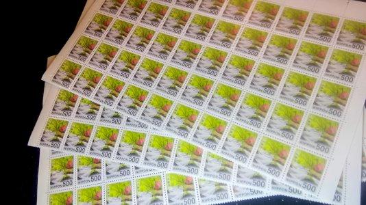 普通切手シート 500円 100枚 販売率92% 送料無料