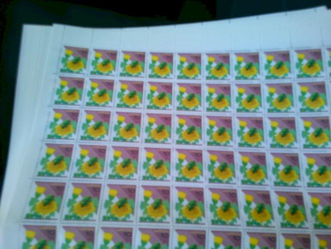 普通切手10円 100枚 ×1~10シート 販売率94%