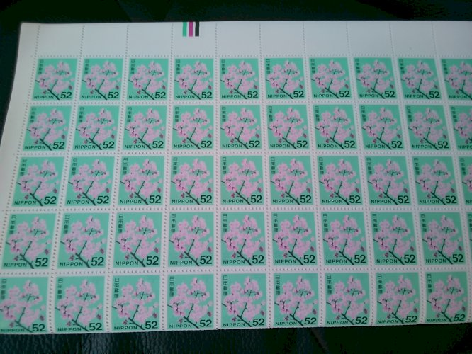 普通切手52円 100枚× 1~10シート 販売率94%